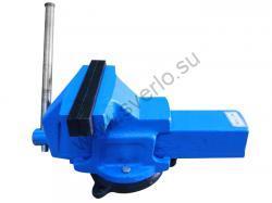 Тиски слесарные 200мм стальные поворотные ТСC-200 (Гомель)