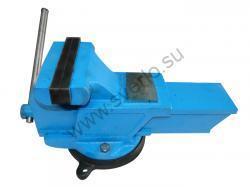 Тиски слесарные 180мм стальные  поворотные ТСС-180 (Гомель)