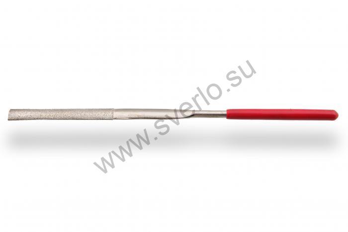 Надфиль алмазный тупоносый ромбический   160 мм  форма 02
