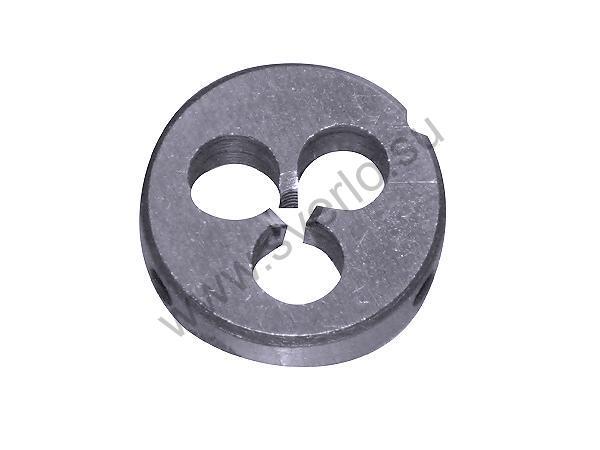 Плашка круглая  3х0.5    d 20 мм левая ГОСТ  (2650-1486)