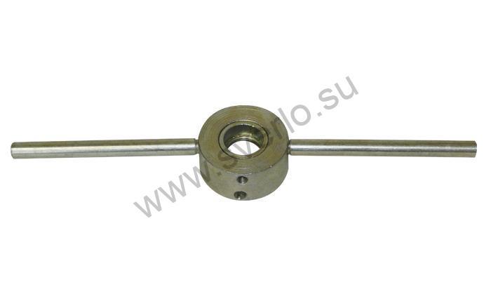 Плашкодержатель  М 3-М14 (d 20-25-30-38 мм двухсторонний) оцинкованный