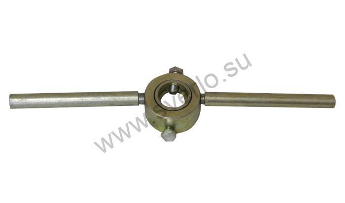 Плашкодержатель  М 3-М12 (d-20-25-30 мм двухсторонний) оцинкованный