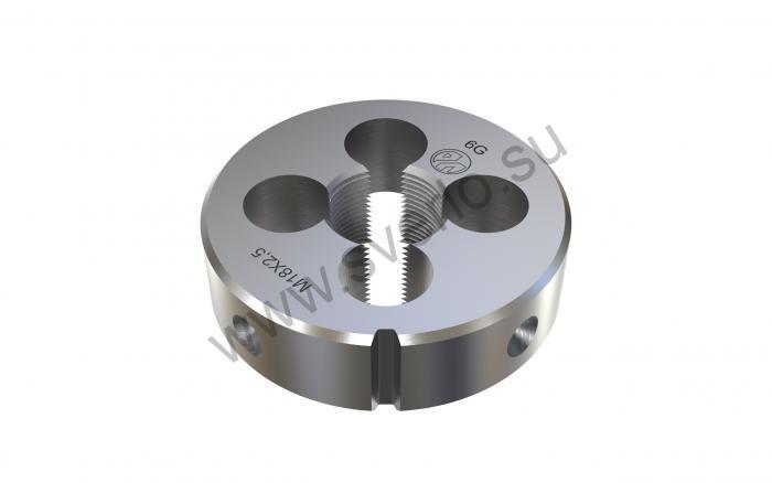 Плашка круглая  8,0*1,25   d 25 мм ГОСТ9740-71  (2650-1617)
