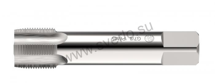 """Метчик трубный  G   7/8"""" машинно-ручной    (2625-0049) Р6М5 РЕЗОЛЮКС"""