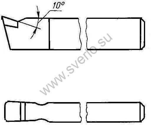 Резец чистовой широкий Т15К6 32*20*170  (2120-0054)