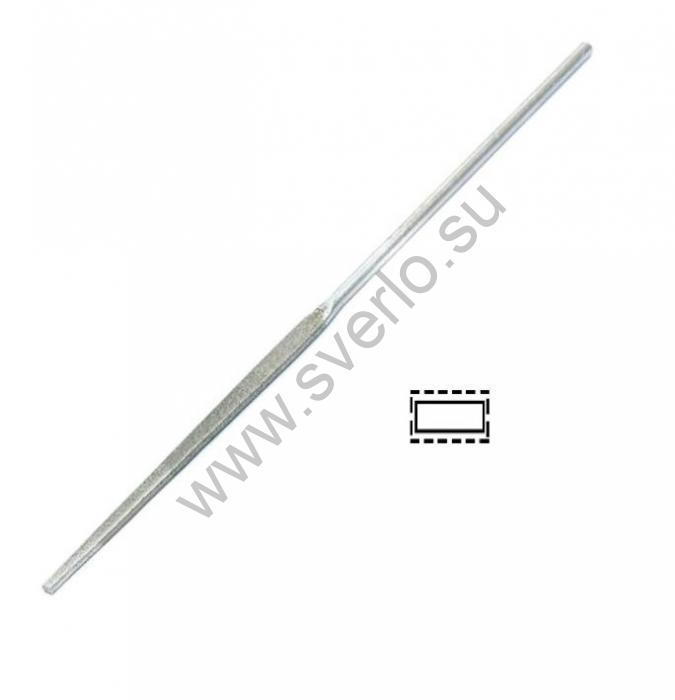 Надфиль алмазный остроносый плоский         160 мм  80/63