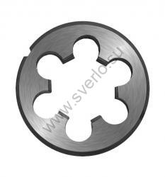 Плашка круглая 22х2.5   d 55 мм  левая ГОСТ  (2650-2174)