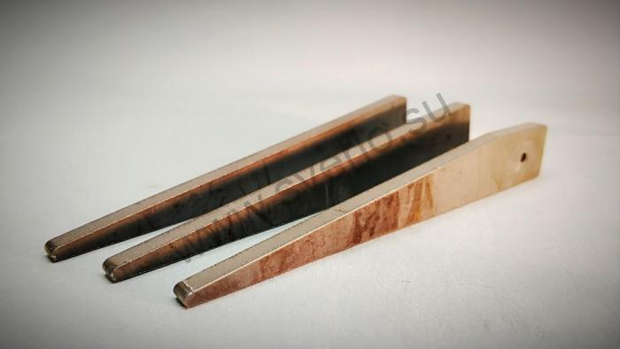 Клини для выбивания инструмента КМ1-КМ2 120*26*17*5 мм